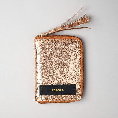 Solid Gold Money Wallet