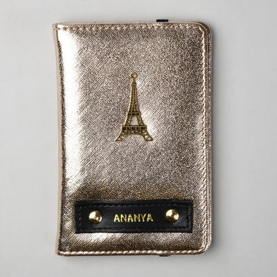 Champagne Passport Wallet
