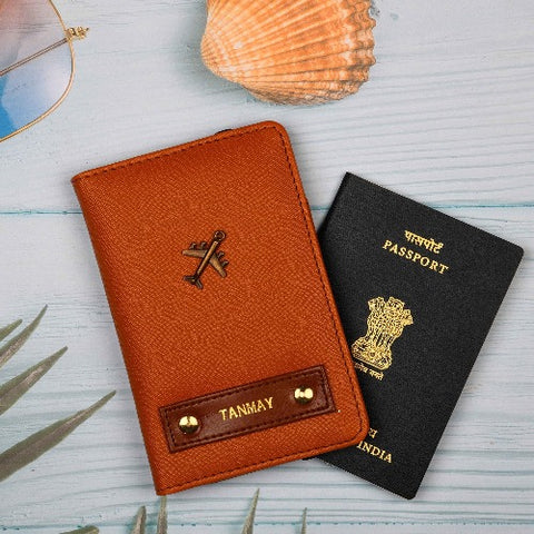 Tanned Passport Wallet