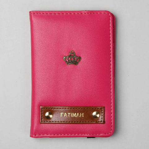 Magenta Pink Passport Wallet