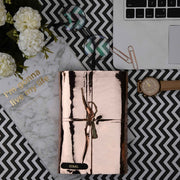 Rose Gold Travel Diary