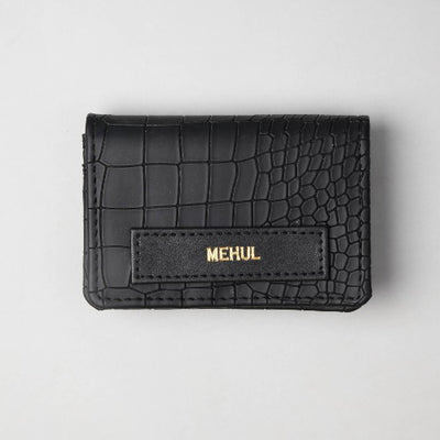 Stealth / Triple Black Card Holder