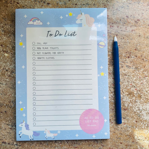 Unicorn To do List