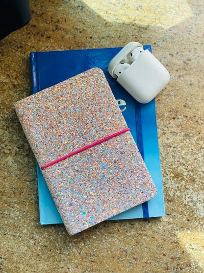 Pink shimmer diary