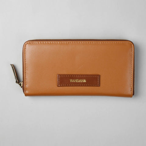 Tanned Women's Wallet