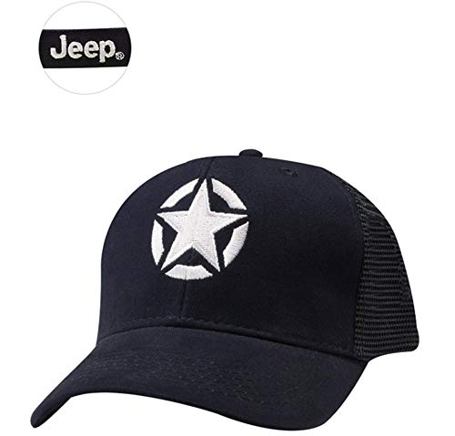 Jeep Star Structured Mesh Cap