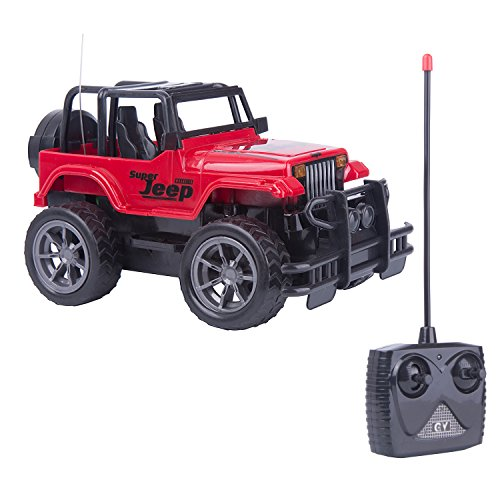 Egoelife RC Jeep Wrangler Vehicle off-road Remote Control Car Crawler 1:24 Scale Electric Toy RC Crawler(Color at Random)