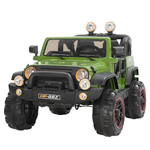 Kids Electric Power Wheels 12V Ride on Cars with Remote Control 2 Speed Green