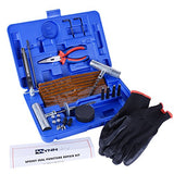 New Ideal 60 Pieces Tire Repair Tools Kit, Tires-60 Pieces Truck Tool Box