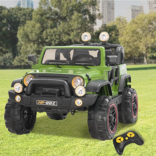 53c029081b40 ... Kids Electric Power Wheels 12V Ride on Cars with Remote Control 2 Speed  Green ...