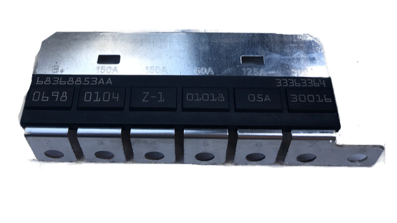 High amp fuse array for JL PDC