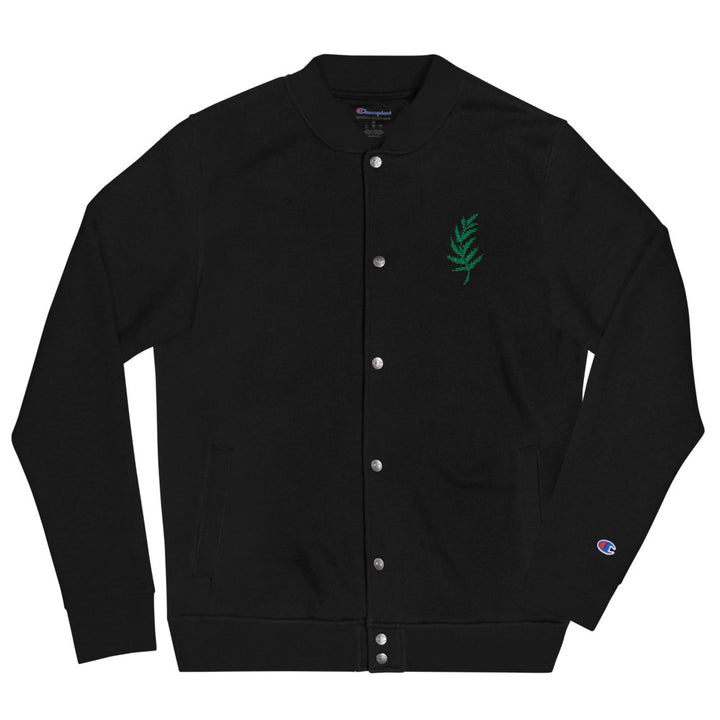 Embroidered Fern Jacket