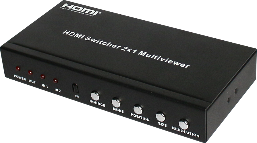 HDMI 2x1 Multi-Viewer with PIP