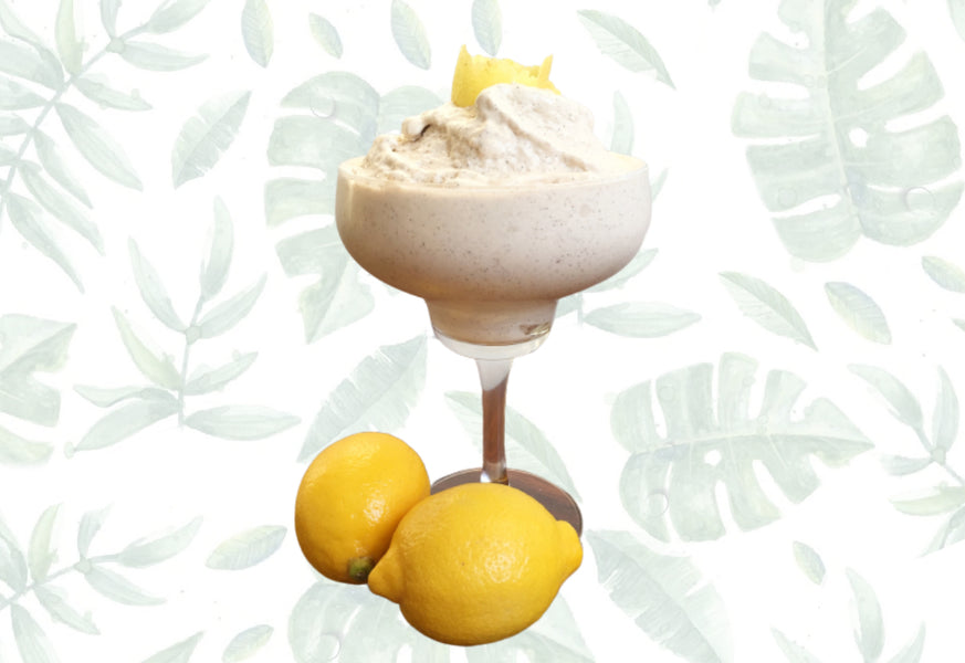 Summer Loving Lemon Ice Cream