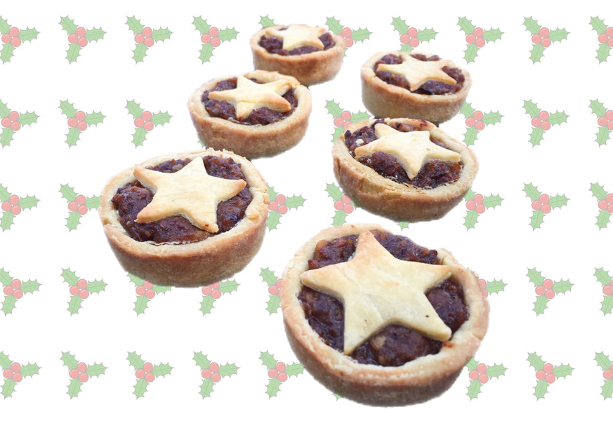 Low(er) Carb Festive Mince Pies