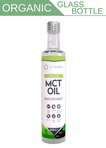 Organic 100% Coconut MCT Oil