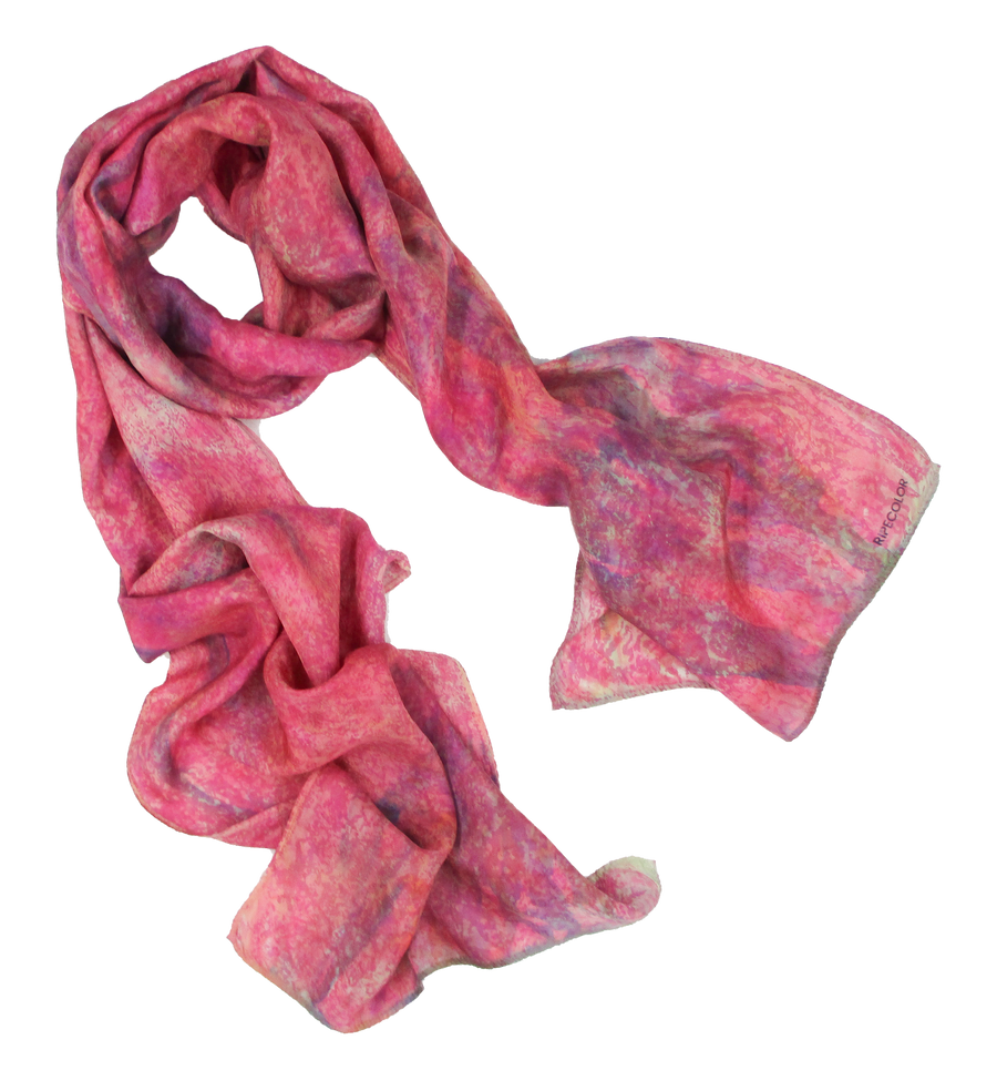 Luxury Hand-painted Scarf
