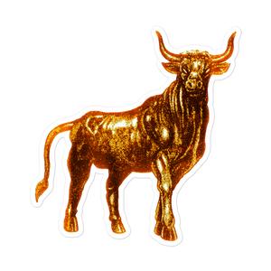 Taurus Gold sticker