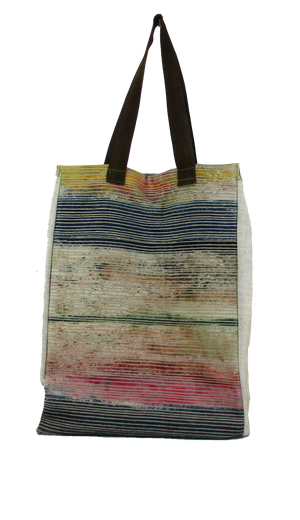 Striped Ottoman Tote Bag