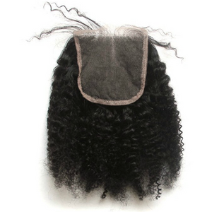 Afro Kinky Curly Closure
