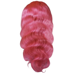 Cotton Candy Front Lace Wig