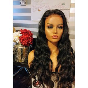 Raw Cambodian Lace Closure Wig