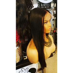 Raw Cambodian Lace Closure Wig - Mercedes