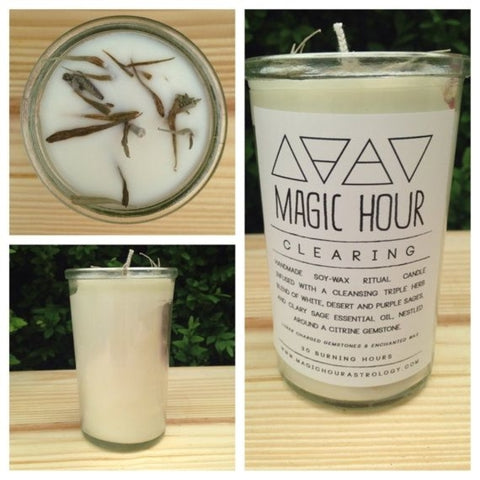 Magic Hour Clearing Candle Everyday Magic