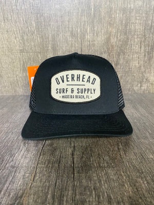 Surf and SupplyTrucker Hat in Black