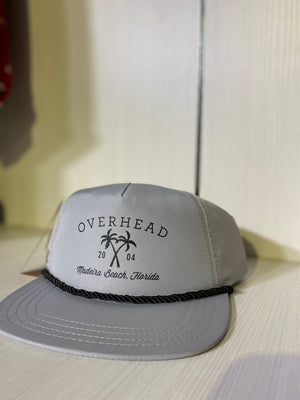 Cross Palm Hat in Grey