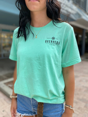 Helm Tee in Mint