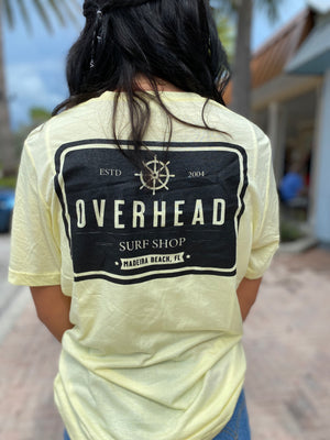 Helm Tee in Yellow