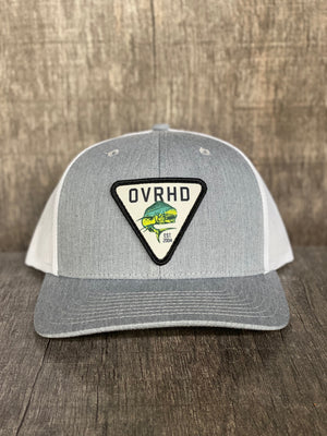 Mahi Trucker Hat in Grey
