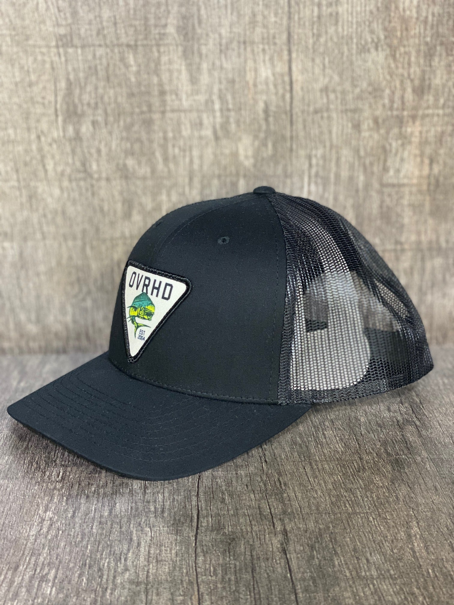 Mahi Trucker Hat in Black