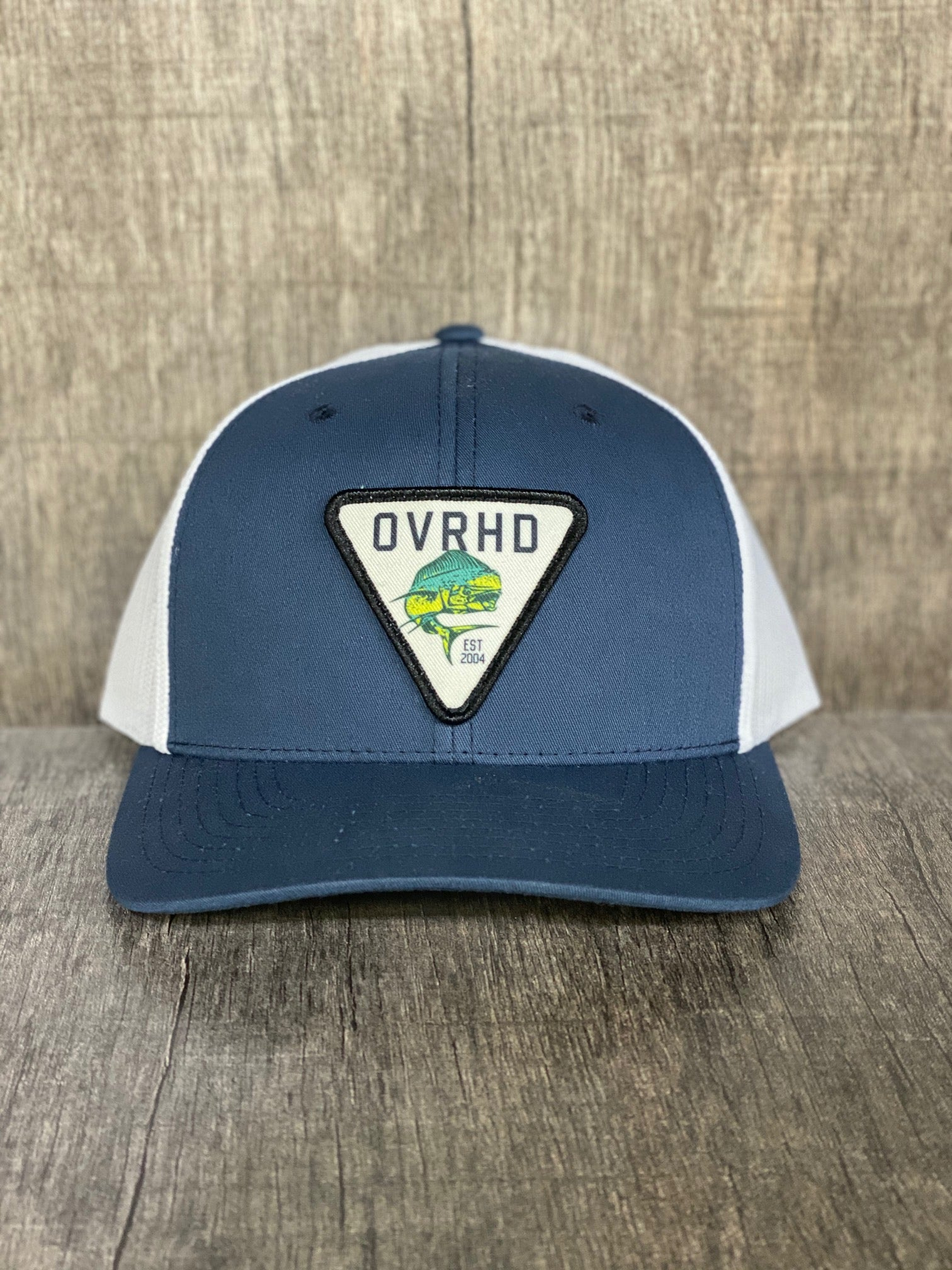 Mahi Trucker Hat in Navy