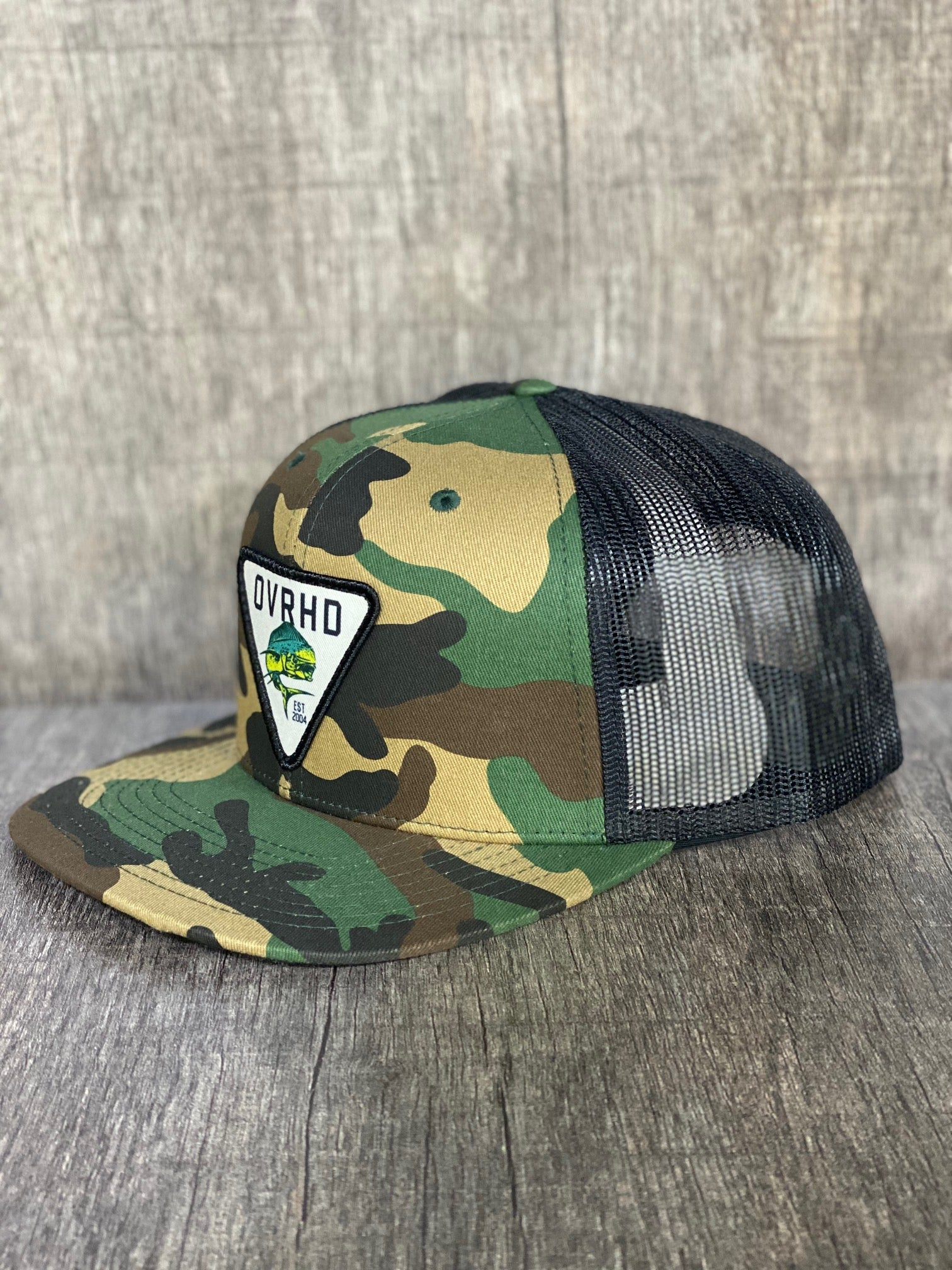 Mahi Trucker Hat in Camo