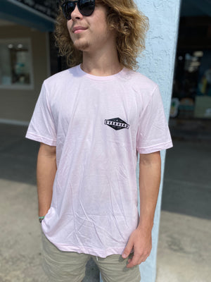 Diamond Tee in Pink