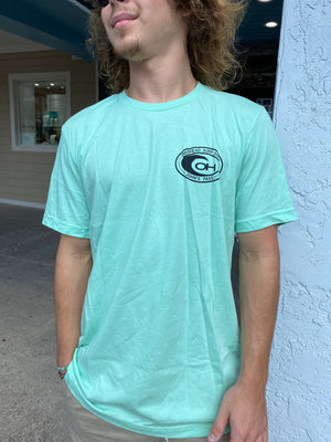 OG Logo Tee in Mint
