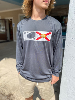 New Logo Florida Flag UV Performance Shirt