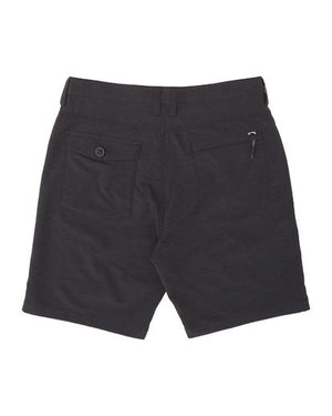 Surftrek Wick Walkshorts in Black