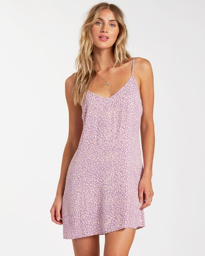 Blooming Dress in Lit Up Lilac