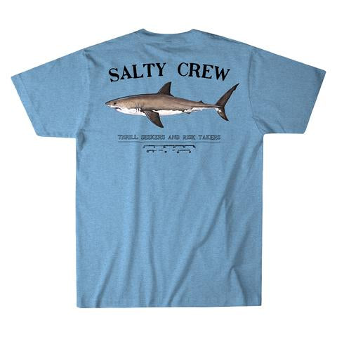 Bruce S/S Premium Tee in Light Blue