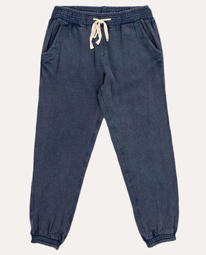 Classic Surf Pant in Mid Blue