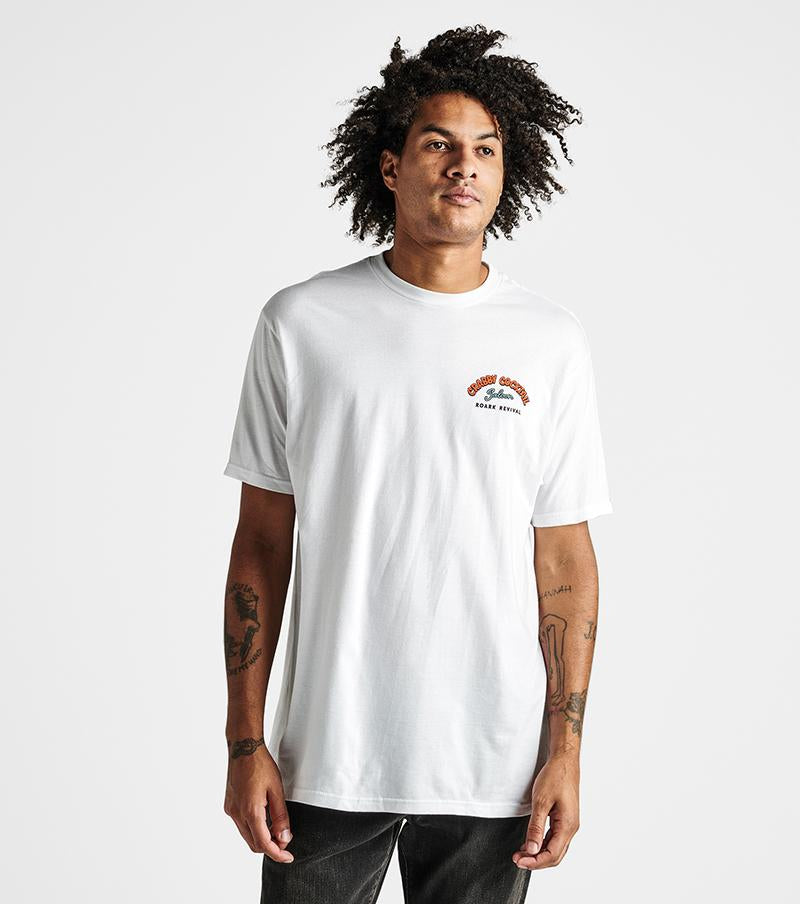 Crabby Cocktail Tee in White