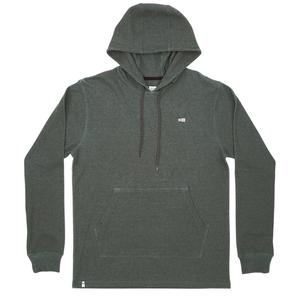 Dockman Thermal Pullover Hoody in Asphalt