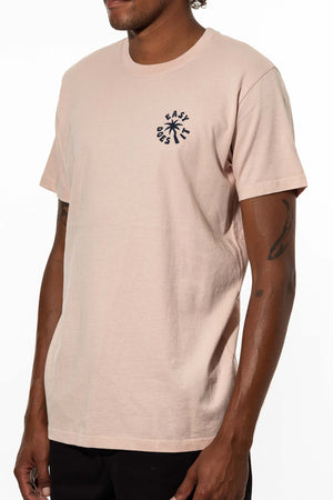 Easy Palm Tee in Pink