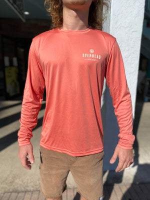 Helm UV Performance Shirt in Salmon