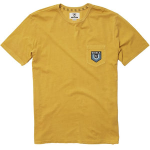 Emblem Pocket Tee in Golden Hour