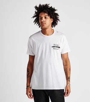 Fine Knives Deep Flasks Tee in White