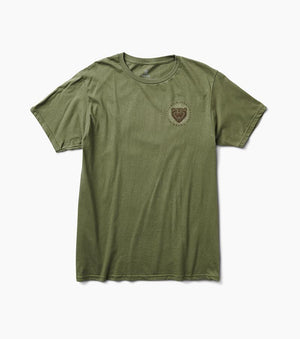 Grizzly Tee in Army